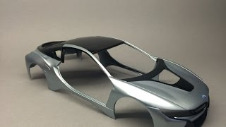 Revell: BMW i8 Part 5 Decal Application