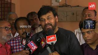 Megastar Chiranjeevi Deepest Condolence to Journalist Nandagopal Family #Tollywood