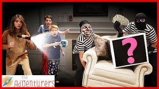 Villains - Robbers Are In Our House! / That YouTub3 Family I The Adventurers