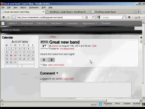 Video 16   How to Insert Audio or MP3 Files