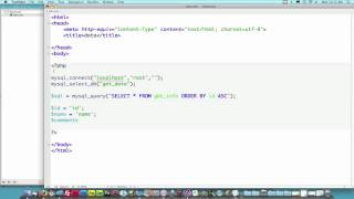 download lagu Php Lesson 1: How To Get Data From Mysql gratis