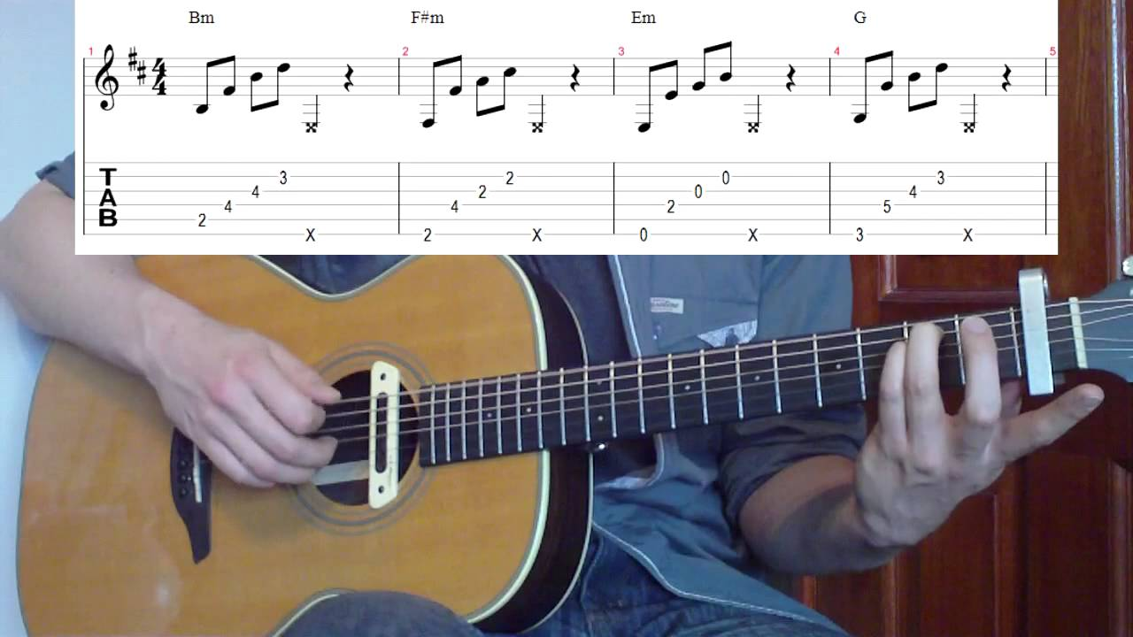 how to play mirrors on guitar