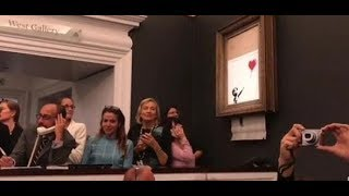 KUNSTWERK GESCHREDDERT: So gerissen hat Banksy seine Aktion geplant
