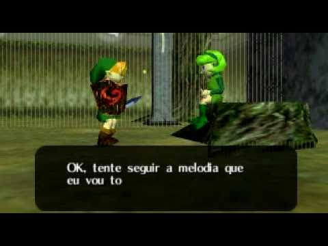Zelda : Ocarina Of Time- Learning Saria's Song video