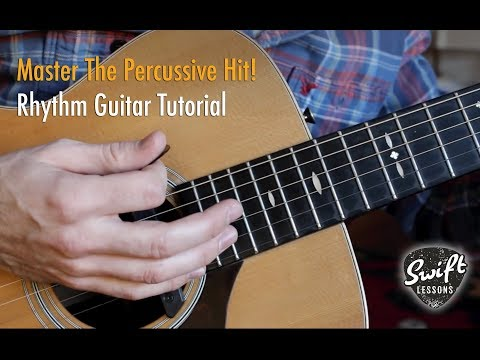 Percussive Acoustic Guitar - Rhythm Guitar Lesson For Beginners