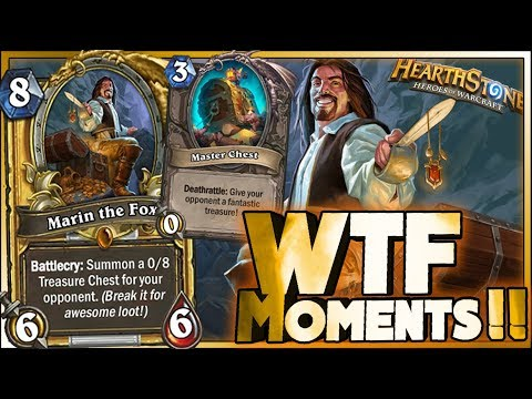 Hearthstone - Kobolds & Catacombs WTF Moments - Funny and lucky Rng Moments