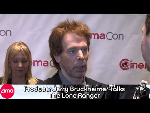 Jerry Bruckheimer Chats LONE RANGER at CinemaCon with AMC