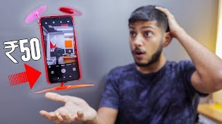 TURN ANY PHONE INTO FLYING PHONE FOR JUST 50 RS ! *drone trick*