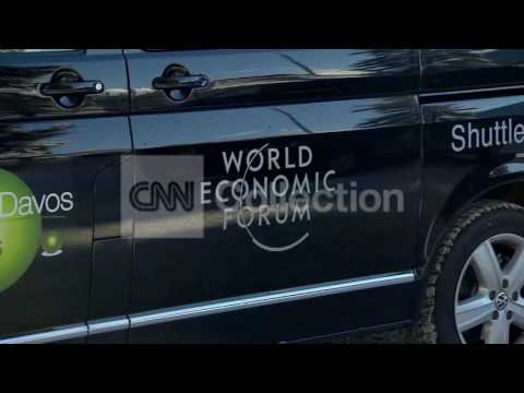 WORLD ECONOMIC FORUM ARRIVALS IN DAVOS