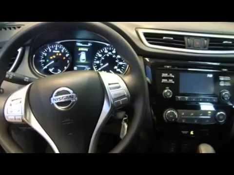 Nissan Rogue Interior >> 2014 NISSAN ROGUE S BLACK - YouTube