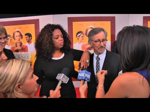 OPRAH WINFREY, STEVEN SPIELBERG & HELEN MIRREN talk 'The 100 Foot Journey'