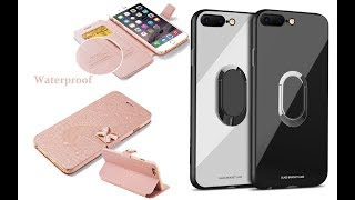Best 5 Leather Cases Top 5 Review For iPhone 7 8 Plus X 8 7 6S 6 case 5 5S