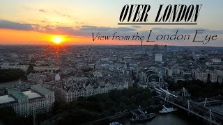 The London Eye view, enjoy an awesome sunset experience in High definition HD (travel video Londra)