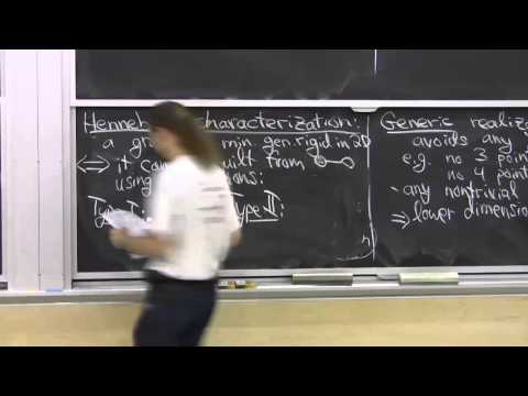 Lecture 11: Rigidity Theory