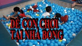 💚Trẻ Tự kỷ |💚❤Dế con chơi tại nhà bóng trong tiniworld tân phú_AEON mall❤||autistic children|