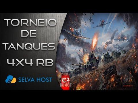 War Thunder - Tank Tournament 4x4 RB - 4 splitscreen