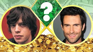 WHO'S RICHER? - Mick Jagger or Adam Levine? - Net Worth Revealed! (2017)