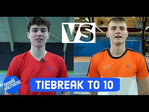 E3 Felix vs Moritz |US College Tennis Player  |Tiebreak to 10