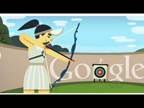 London Archery 2012 Google Doodle