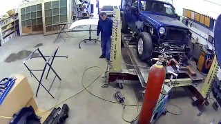 Frame Work Jeep Collision Repair