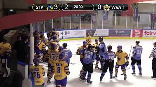 NZIHL 2018 | Fight: West Auckland Admirals and Skycity Stampede - July 14