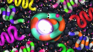 Slither.io - SLITHERIO UNSTOPPABLE GIANT SNAKE // SLITHER KING (Slither.io awesome moments)