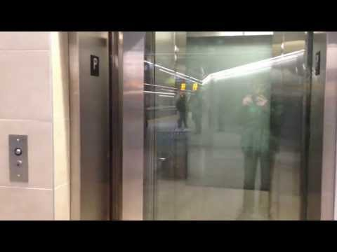 This is the elevator that serves the Outbound (westbound) platform at Westbrook C-Train station, on the West LRT (Route 202) in Calgary, Alberta, Canada. Thi...