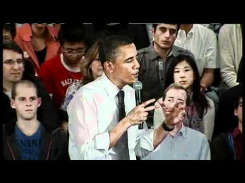 Obama's Facebook Town Hall In Palo Alto