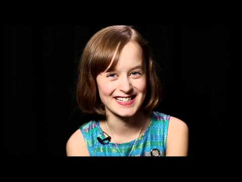 2015 Tony Nominee Secrets: FUN HOME's Sydney Lucas Gets Starstruck by Kristin Chenoweth