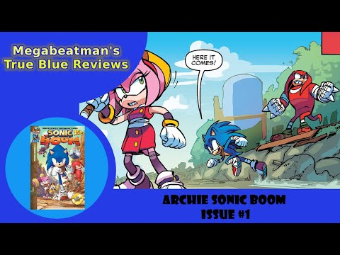 Let's Review Sonic Boom #1!