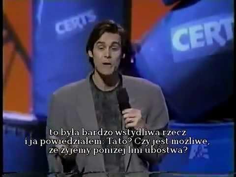 Jim Carrey On Comic Relief 1992 Polskie Napisy PL