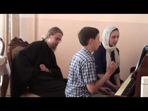 Великая Ектения. Византийский распев. Репетиция.