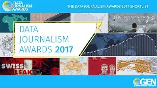 Data Journalism Awards 2017 Shortlist Reveal