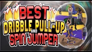 NBA 2K18 BEST DRIBBLE PULL UP & SPIN JUMPER | NEVER MISS A FADING SHOT AGAIN!!!