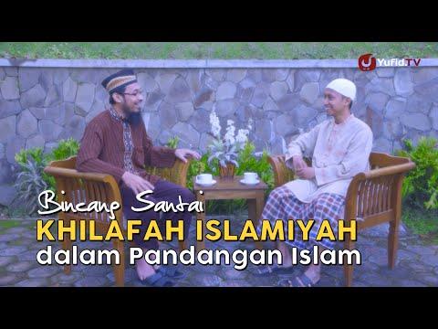 Bincang Santai: ISIS Dan Khilafah Islamiyah Dalam Pandangan Islam - Ustadz Dr. Ali Musri, M.A.