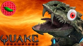 TASTE THE GAUNTLET -- Quake Champions BETA | Multiplayer First Impressions | SORLAG gameplay