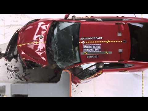 Dodge Dart 2013, краш-тест