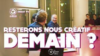 Débat#4 - Resterons nous créatifs demain ? avec Alain Damasio & Ariel Kyrou