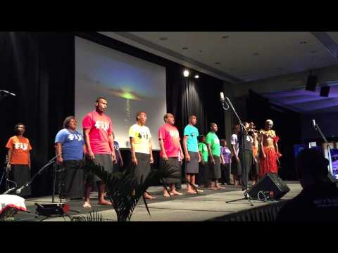 Fijian Tourism Expo  2015 - opening ceremony Ancient Land preview