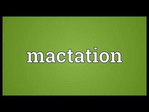 Header of Mactation