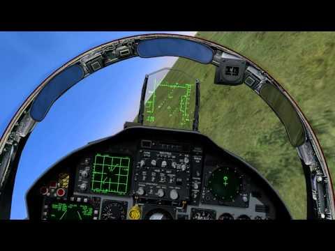 Ближний воздушный бой на F-15C