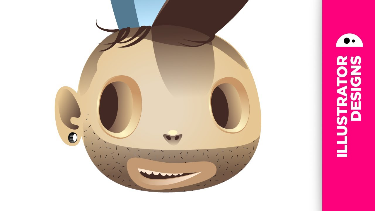 Illustrator Cs6 Character Design : Adobe illustrator timelapse character design youtube