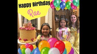 Happy Birthday Rae!! Safari Zoo Time!!