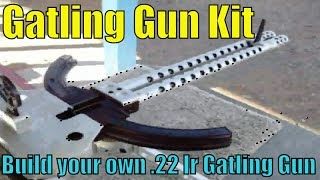 Tactical Innovations 10/22 Gatling Gun