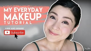 Vlog #2: My Everyday Makeup Tutorial | Carla Abellana