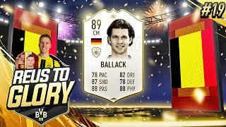 ELITE 2 REWARDS! 89 BALLACK! | Reus To Glory #19 | FIFA 19 Road To Glory