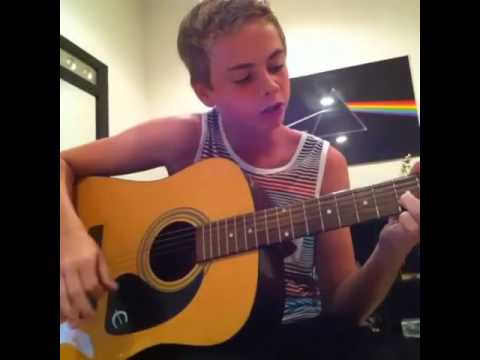 Boomerang • The Summer Set (Cover by 14 years old Corbyn Besson)