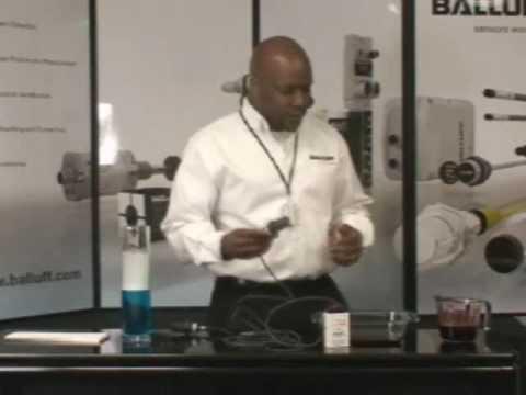 Balluff SmartLevel Liquid Level Sensor