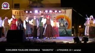 KAUKUTIS CHILDREN FOLKLORE ENSEMBLE  - LITHUANIA