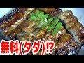 【釣れたて!】無料で『極上うなぎ丼』が食べれる方法がこちら